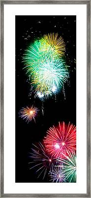 Colorful Explosions No3 Framed Print by Weston Westmoreland