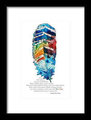 Poetry Framed Prints