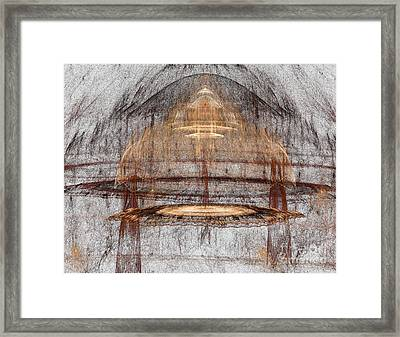 Colorful Forms Framed Print by Odon Czintos
