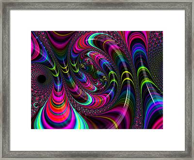 Colorful Fractal Art Framed Print