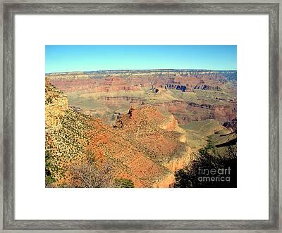 Colorful Grand Canyon Framed Print by John Potts