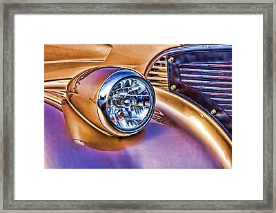 Colorful Hotrod Framed Print by Carol Leigh