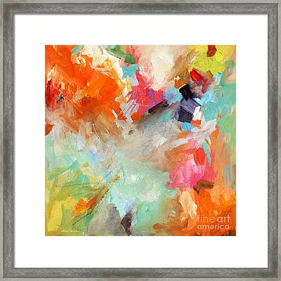 Colorful Joy Framed Print