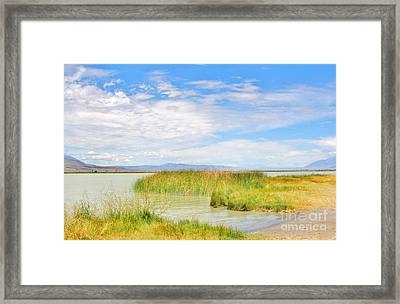 Colorful Klondike Framed Print