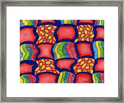 Colorful Life Framed Print