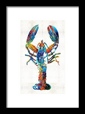 Lobster Framed Prints