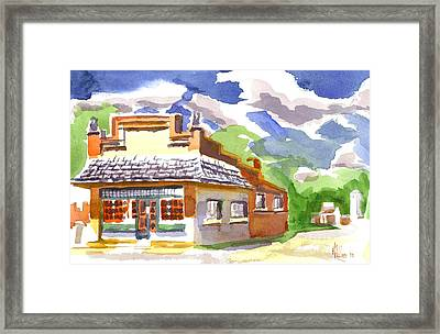 Colorful May Morning Framed Print by Kip DeVore