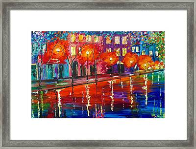 Colorful Night Framed Print
