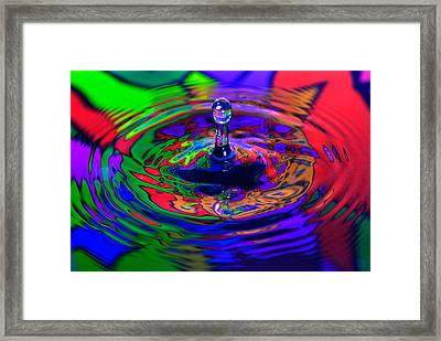 Colorful Framed Print by Okan YILMAZ