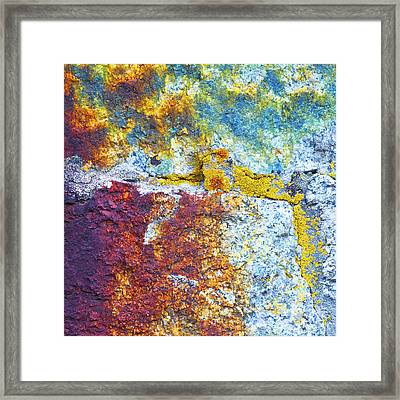 Colorful Rock 5973 Framed Print by Bob Hills