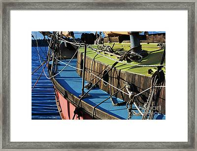 Colorful Sailboat II Framed Print