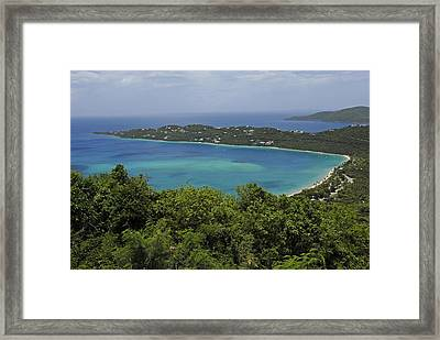 Colorful Saint Thomas  Framed Print by Willie Harper