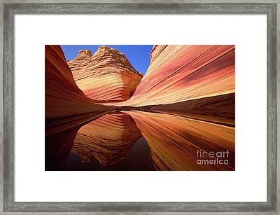 Colorful Sandstone Colorado Framed Print by Yva Momatiuk John Eastcott