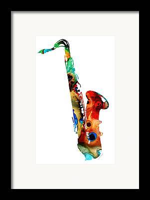 Jazz Framed Prints