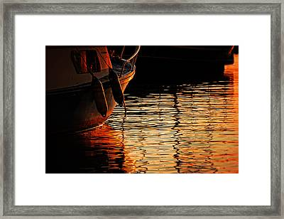 Colorful Shadows Framed Print by Alex Stoen