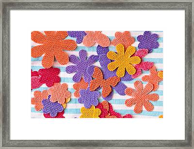 Colorful Shapes Framed Print
