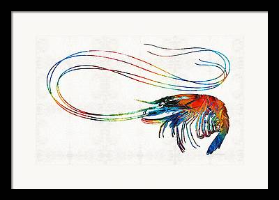 Oceanography Framed Prints