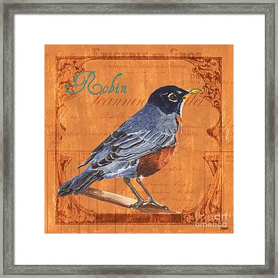 Colorful Songbirds 2 Framed Print by Debbie DeWitt