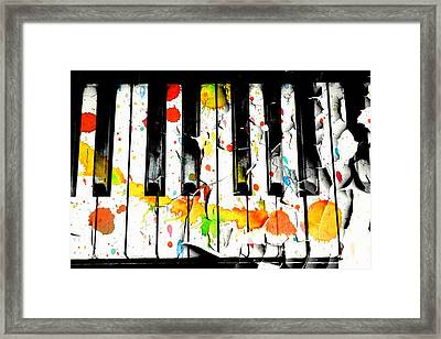 Framed Print featuring the photograph Colorful Sound by Aaron Berg