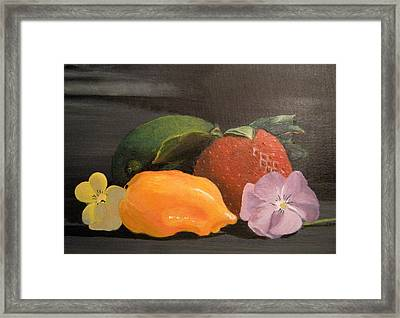 Colorful Still Framed Print