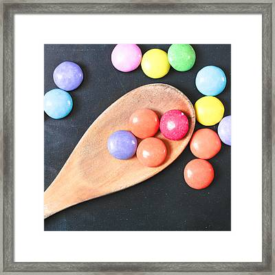 Colorful Sweets Framed Print by Tom Gowanlock