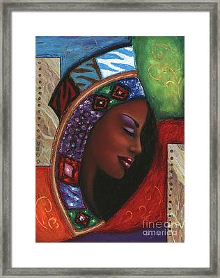 Colorful Thought Framed Print