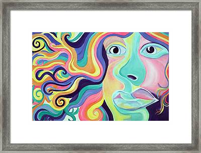 Colorful Thoughts Framed Print by Lorinda Fore