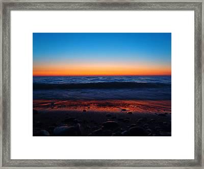 Colorful Twilight Framed Print