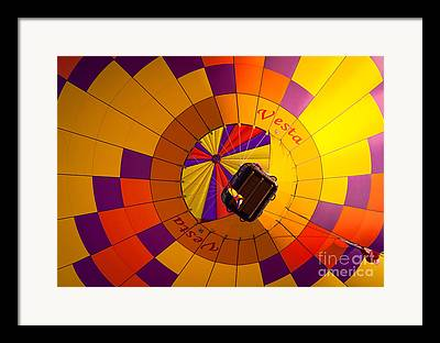 Hot Air Balloon Race Framed Prints