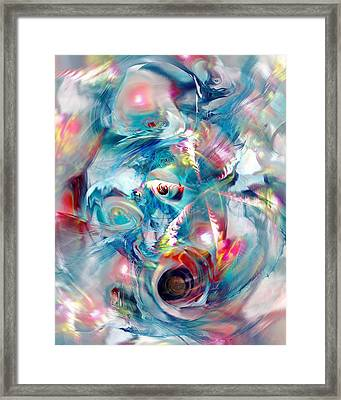 Colorful Water Framed Print by Anastasiya Malakhova