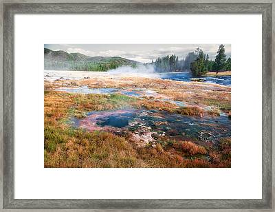 Colorful Waters Framed Print