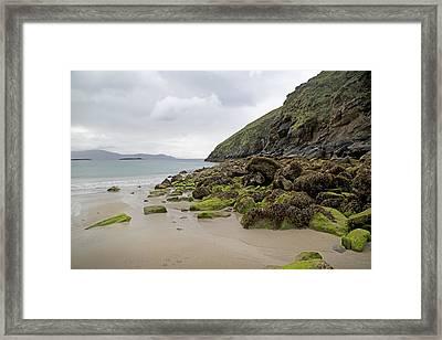 Coloring Life Keem Beach Ireland Framed Print