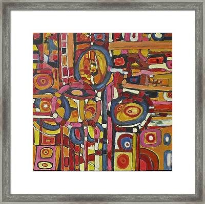 Coloroso # 11 Framed Print