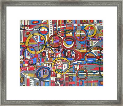 Coloroso # 18--sold Framed Print