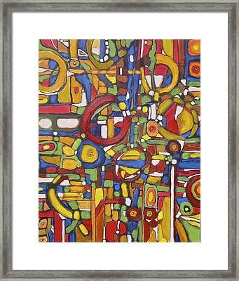 Coloroso # 5 Framed Print