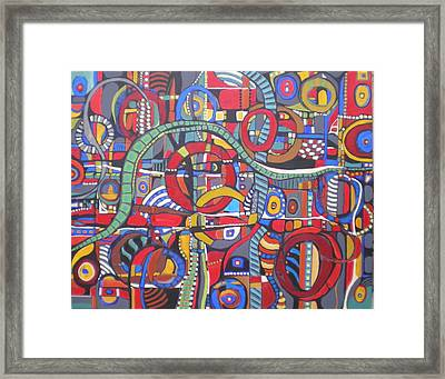 Coloroso #23--sold Framed Print