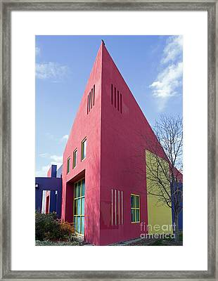 Colors And Angles Framed Print by Steven Parker
