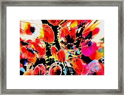 Colors And Emotions Framed Print by Manjot Singh Sachdeva
