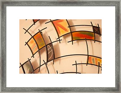 Colors And Shadows Framed Print by Richie Stewart