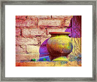 Colors And The Sun Framed Print