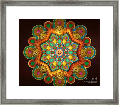 Colors Burst Framed Print by Bedros Awak
