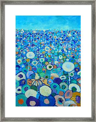 Colors Field In My Dream Framed Print