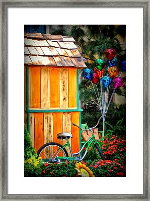 Colors Galore Framed Print by Tricia Marchlik
