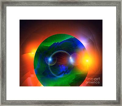 Colors Framed Print by Gayle Price Thomas