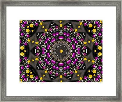 Colors In Abstractum Framed Print