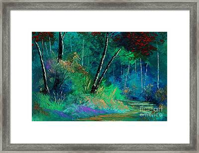 Colors Of A Dream Framed Print