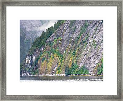 Colors Of Alaska - Misty Fjords Framed Print