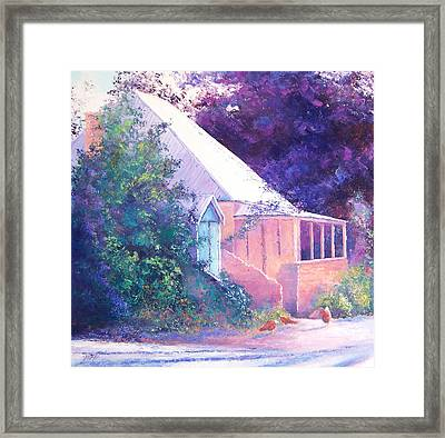 Colors Of Autumn Framed Print by Jan Matson