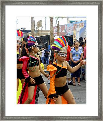 Colors Of Carnival Framed Print