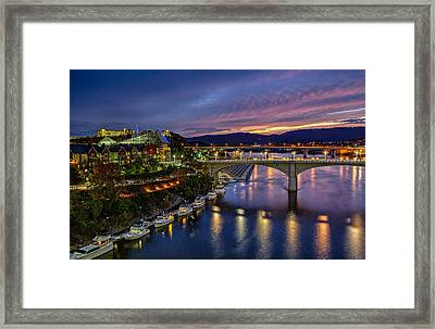 Colors Of Chattanooga  Framed Print by Sora Photography